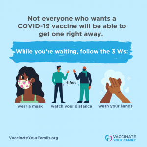 Not everyone who wants a COVID-19 vaccine will be able to get one right away (IG)